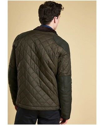 New Barbour Sam Heughan Signature Collection Men's Dunnotar Quilted Jacket