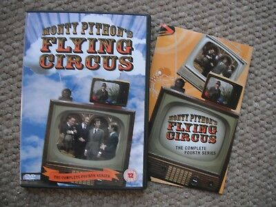 Monty Python's Flying Circus - Complete Series 4 - Classic 1970's Comedy - Dvd