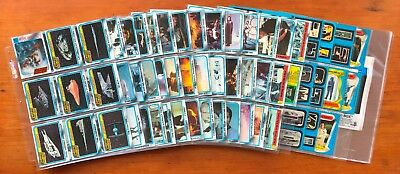 1980 Topps The Empire Strikes Back Series 2 - Set of 132 Cards + 33 Stickers