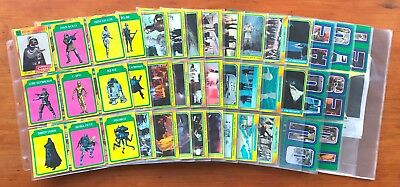 1980 Topps The Empire Strikes Back Series 3 - Set of 88 Cards + 22 Stickers