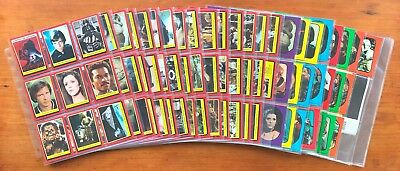 1983 Topps Return of the Jedi Series 1 - Set of 132 Cards + 66 Stickers