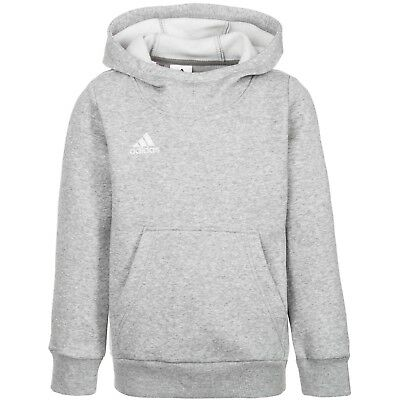 Youth Adidas Core 15 Hoodie Kids Sweater Heather Grey Aa2723 Sz. Ys-Yl Msrp $45
