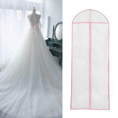 Breathable Garment Storage Bag Bridal Gown Wedding Dress Dust Proof LARGE Cover