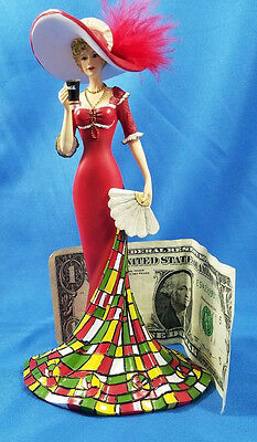 Hamilton Figurine Coca-cola Lady timelessly refreshing timeless refreshment
