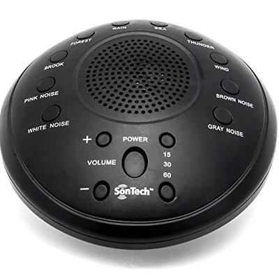 White Noise Sound Machine 10 Relax Sleep Soothing Sounds Night Sleeping Therapy