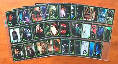 1995 Topps Batman Forever Stickers - Near Complete Set (87/88)
