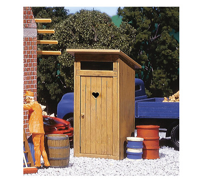Pola G Scale 1/22.5 Outhouse Kit | Ships From Usa | 333215