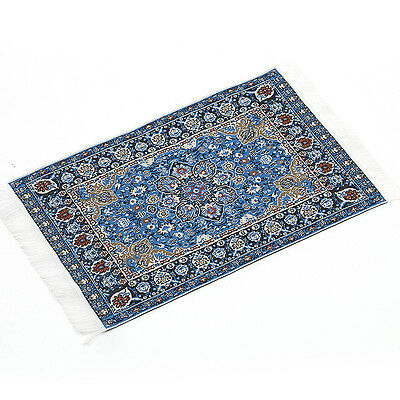 Blue Starry Night Carpet For 1/12 Dollhouse Miniature Toy House Decor Kids ,US
