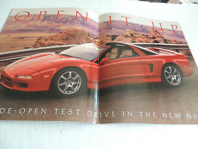 1995 Acura Driver Magazine with NSX-T Nice
