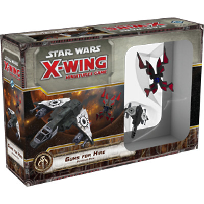 Guns for Hire - Star Wars - X-Wing Miniatures Game NEW SWX73