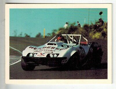 Sanitarium Weetbix - Fast Wheels (1977) - Collector Card #12 Chevrolet Corvette
