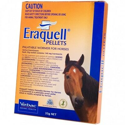 Virbac Eraquell - Horse Wormer Pellets -5 Pack Deal