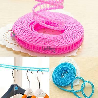 Nylon Clothes Hanging Drying Ropes Non-Slip Windproof Clothes Washing LEBB