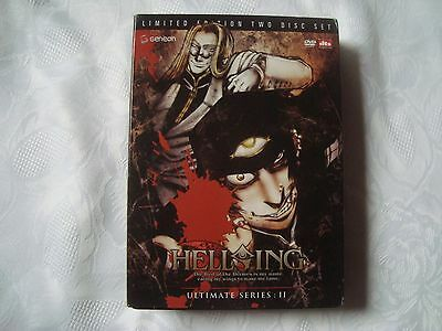 HELLSING ULTIMATE SERIES Vol.2 SteelBook + BOOK +insert&poster SUPERRARE OOP DVD