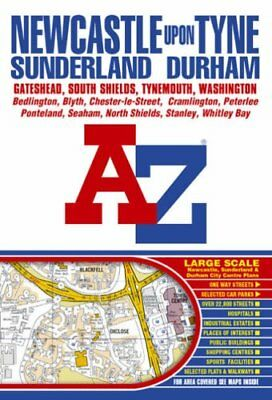 Newcastle Upon Tyne Street Atlas (Street Maps & At... by Great Britain Paperback