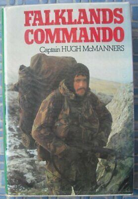 Falklands Commando by McManners, Hugh Hardback Book The Cheap Fast Free Post