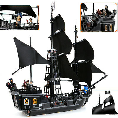 16006 804pcs Pirates of the Caribbean Black Pearl Dead Ship model for 4184