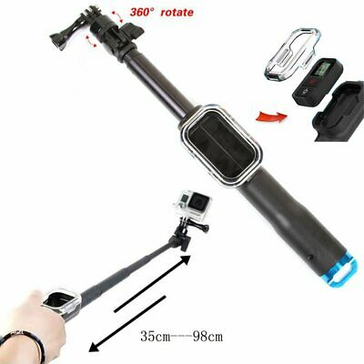 39inch Extendable Selfie Stick + Remote Control Case for GoPro 6 5 4 3+ 3 2 1