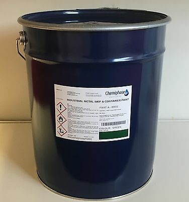 Skip & Container Metal Paint - 20 Litre Drum - Hard Wearing - Next Day Delivery