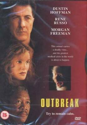 Outbreak DVD (1998) Dustin Hoffman, Petersen (DIR) cert 15 Fast and FREE P & P