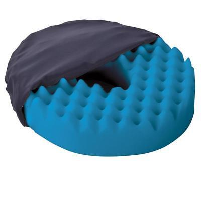 Convoluted Ring Cushion - Foam Rubber Donut Pillow, reduces Pressure Point Pain
