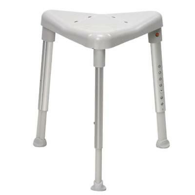 Etac Edge Shower Stool Fits perfectly in a shower corner