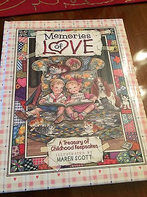 Memory Book Childhood Keepsake Memories of Love - New