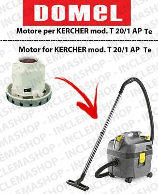 NT 20/1 AP Te Vacuum motor DOMEL for vacuum cleaner KARCHER