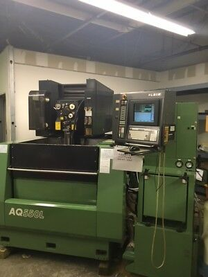 2001 Sodick AQ550L/LN1W Wire EDM with auto wire threading and Submersed cutting
