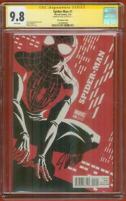Spider Man 1 CGC 9.8 SS Stan Lee Signed Cho Variant Cover Homecoming Movie