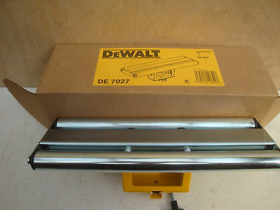 Dewalt De7027 Roller Work Support For De7023 & De7033 Trackstand