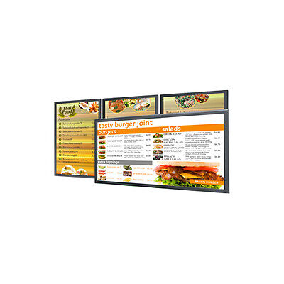 Dynamic Digital Restaurant Menu Boards