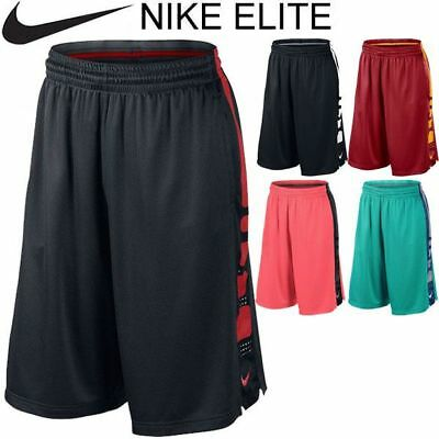 New Nike Elite Dri Fit Shorts Youth Sizes Colors NBA Running Training Fitness