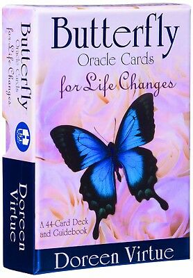 NEW Butterfly Oracle Cards for Life Changes By Doreen Virtue Paperback