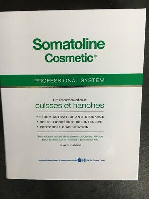 Somatoline Cosmetic Professional System Thighs & Hips Kit Unisex New Boxed