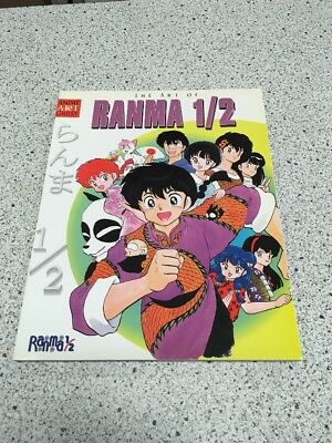 THE ART OF RANMA 1/2 by Rumiko Takahashi ANIME ART GALLERY (Viz/2001/112 pp)