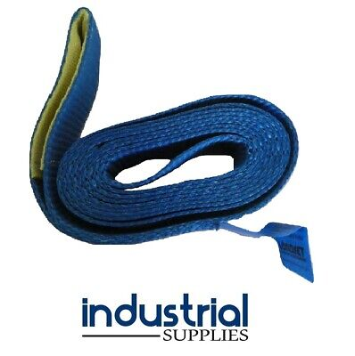 1 x Car Carrying Strap With Loop 50mm Wide x 3Mtr Trailer Tow truck Tilt tray
