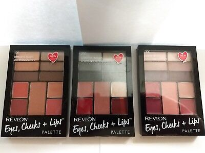 Revlon EYES, CHEEKS + LIPS PALETTE ~~Choose The Right Palette Just for You~~