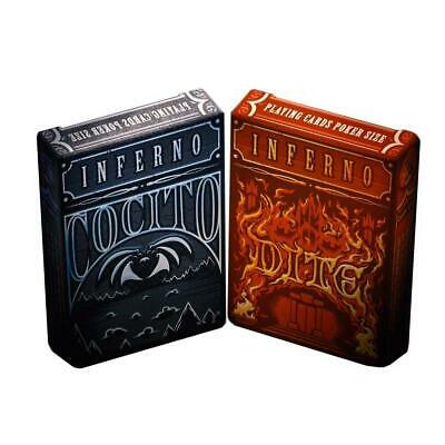Inferno Playing Cards Cocito Dite Editions Passione Italy ~ 2 Decks