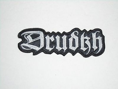 Drudkh Black Metal Embroidered Patch