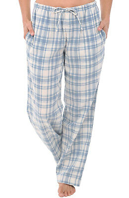 5c4d89978441 ALEXANDER DEL ROSSA Womens Plaid Flannel Pajama Pants