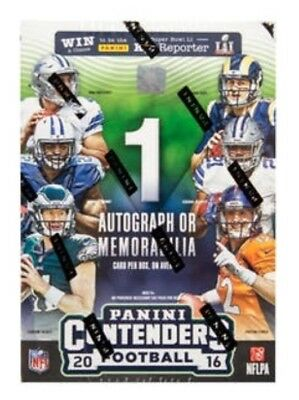 2016 Panini Contenders NFL Football 5-pack Blaster Box - New & Sealed