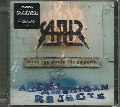 THE ALL-AMERICAN REJECTS when the world comes down (CD album) alternative rock