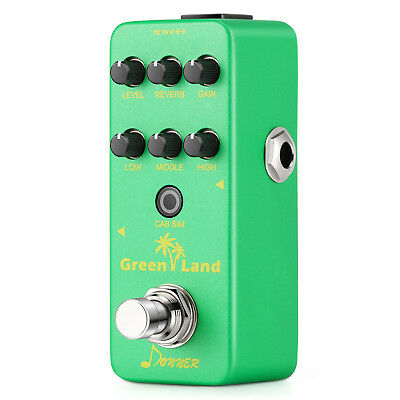 Donner Green Land Mini Preamp Electric Guitar Effect Pedal