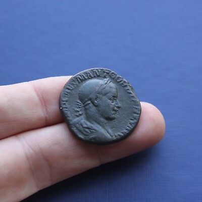 Imperial Roman Brass Coin Sestertius Of Gordian 3 c 238 AD