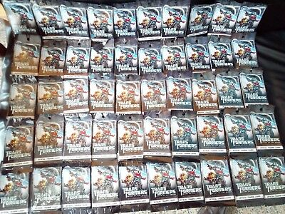 Transformers 3 Dotm 2011 Dark of the Moon Trading Card 50 Pack Hasbro
