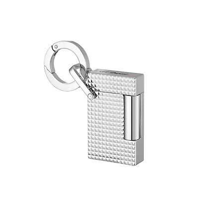 S.t. Dupont Lighter Key Ring Accendino Portachiavi Finitura Cromata 027002Kr