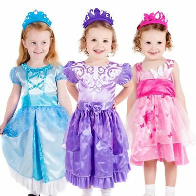 Girls Princess Costume Toddler Age 1-4 Years Role Play Butterfly Book Week  sc 1 st  PicClick UK & GIRLS SOFIA THE First Costume Disney Princess Fancy Dress Child ...