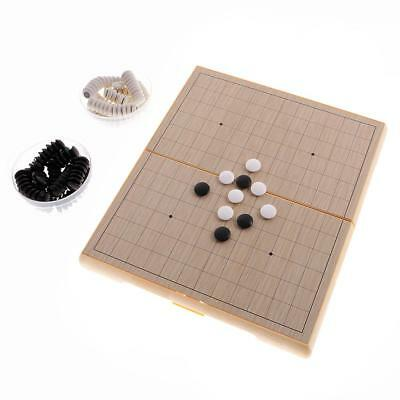 Magnetic Japanese Chess Shogi Game Set with Wooden Board Table +Go Game Set