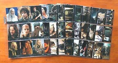 """2003 Topps """"Lord of the Rings: The Return of the King"""" - Set of 90 Cards"""